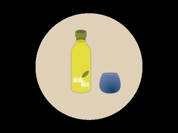 Guia cata: el vaso de cata. Alcalá Oliva